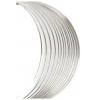 Beadalon Memory Wire Bracelet 0.25oz. Plated Silver